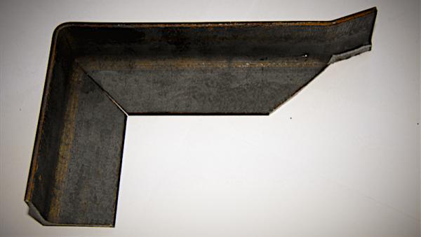 Образец гибки металлического листа 2
