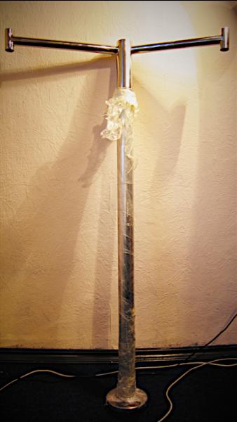 Вешалка гардеробная из нержавеющей стали