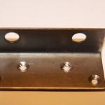 Уголок крепежный 60х90х2,0мм цинк